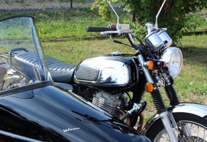 Jawa 350 OHC+Velorex 3