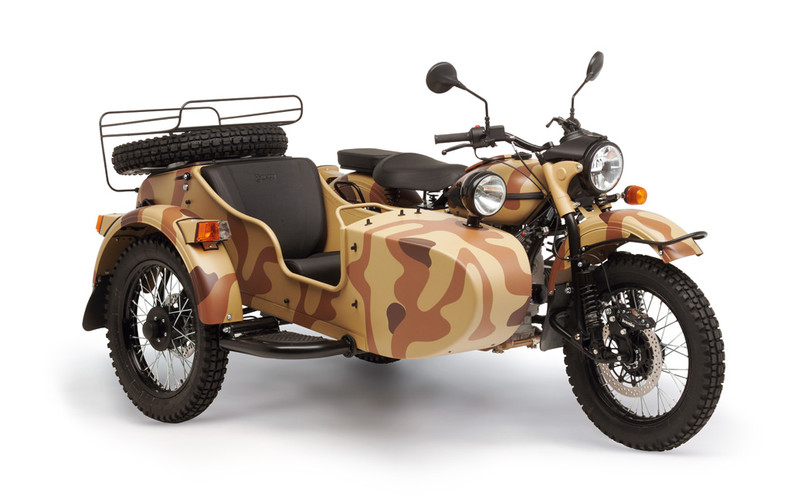 Ural Ranger Sand camouflage 1