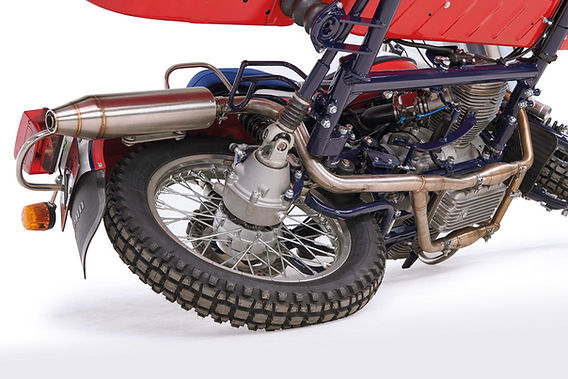 Ural Adventure 2in1 sport exhaust system