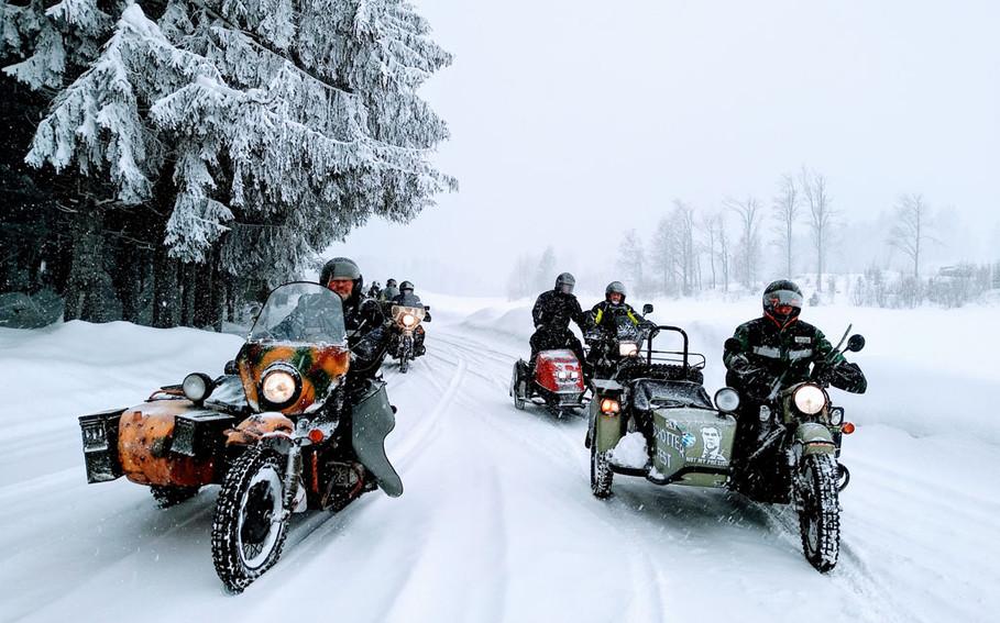 Ural Wintertreffen Prandegg 5