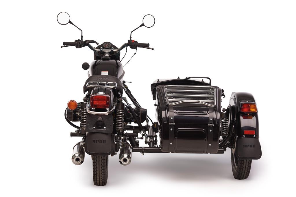 Ural cT black metalic 4