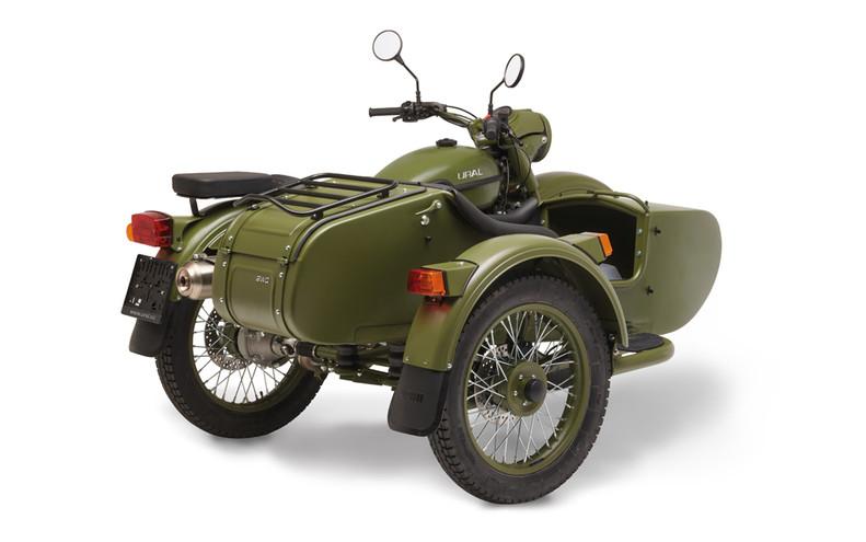 Ural T TWD Jagergrün 3