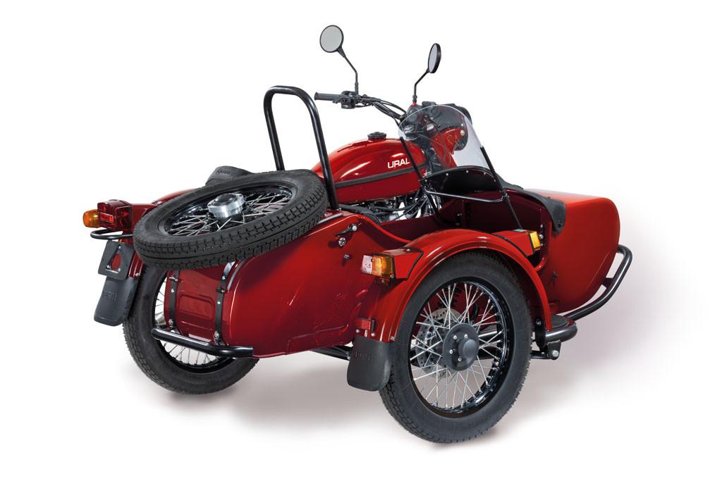 Ural Classic Kirschrot 6F