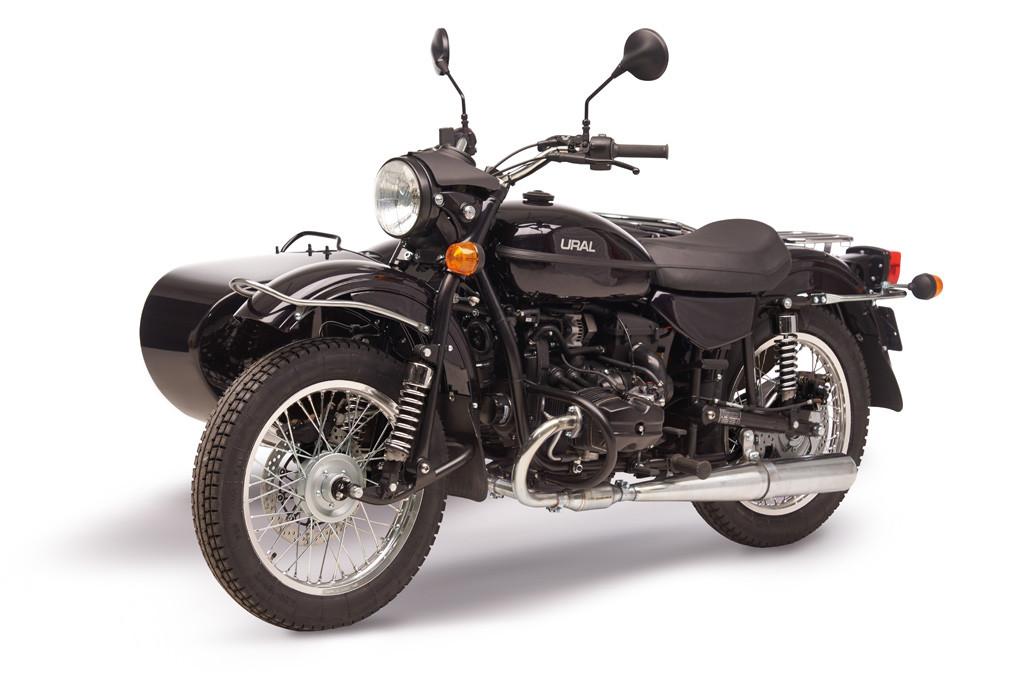 Ural cT black metalic 7