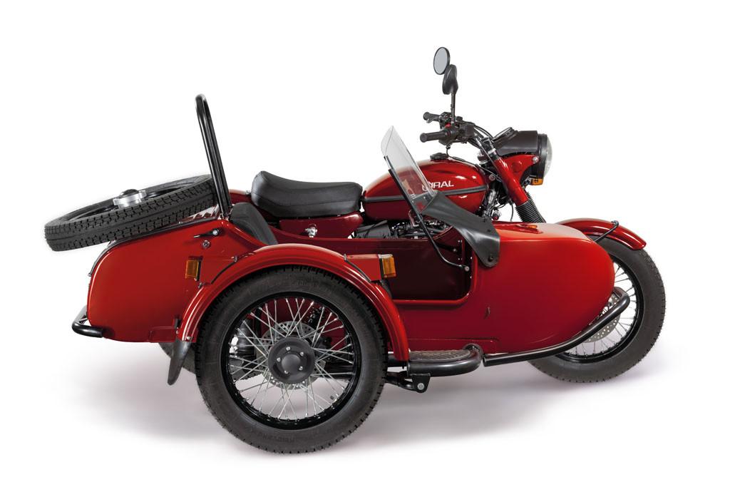 Ural Classic Kirschrot 7F