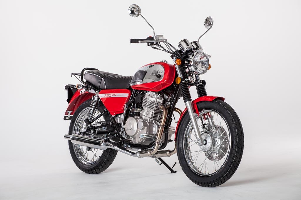 Jawa 350 OHC Red 2