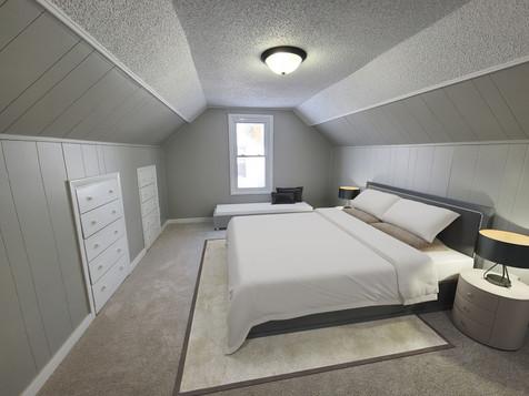 Xerxes upstairs bedroom