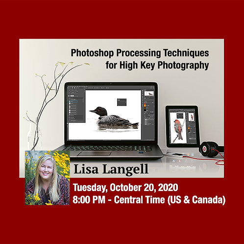 Lisa Langell - Photoshop For High Key Photography
