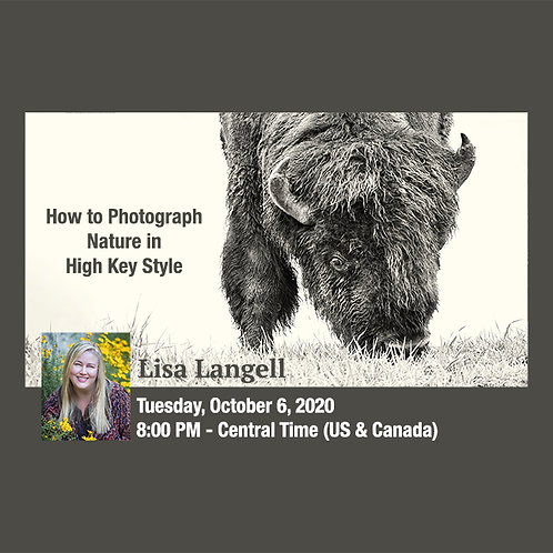 Lisa Langell - How to Photograph Nature in High Key Style