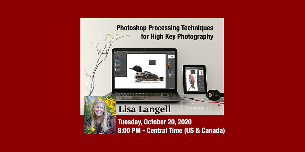 Lisa Langell - Photoshop Processing Techniques for High Key Photography