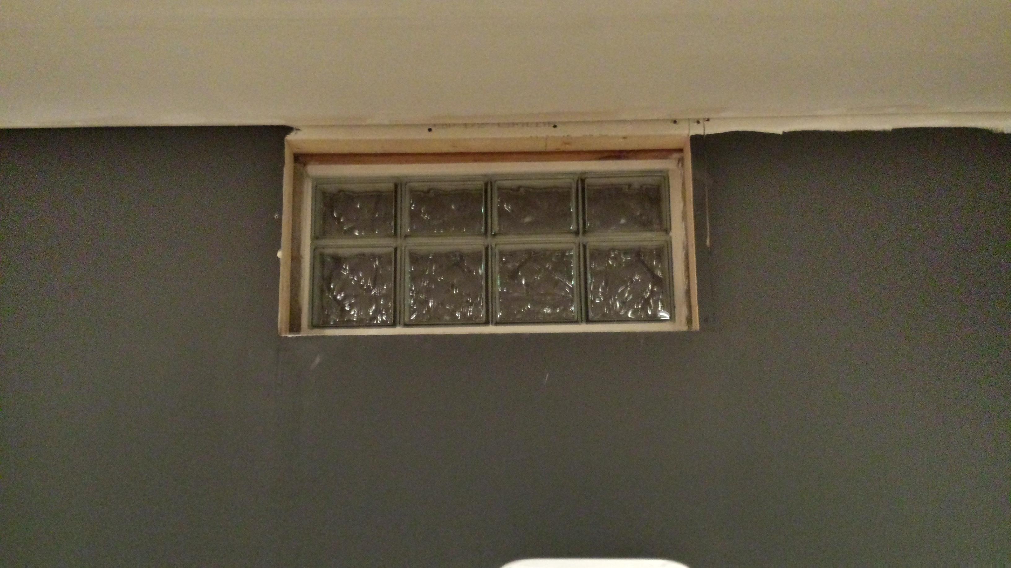 Glass Block Installation Barberton