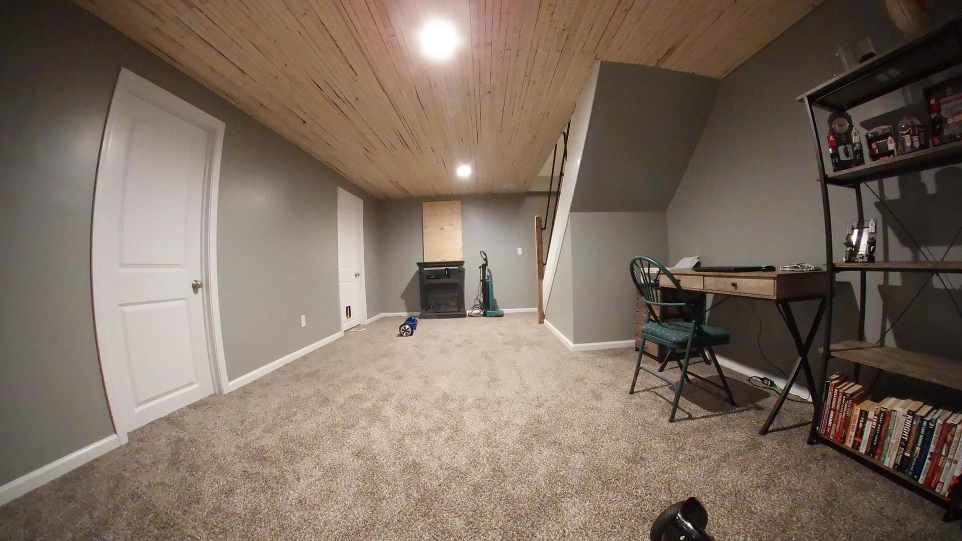 Akron basement finishing custom ceilings