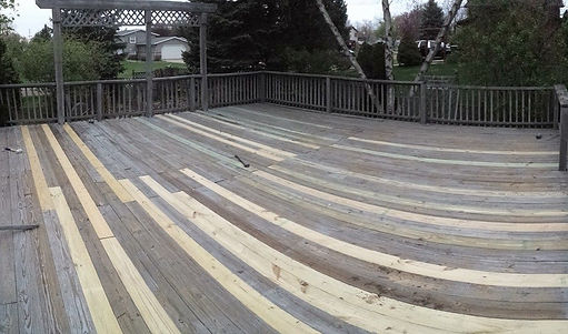 We can fix all your exterior decks, patios, fire pits, and much more!