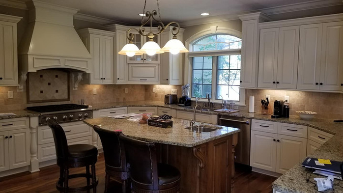 Kitchen remodeling done by Operation Ren