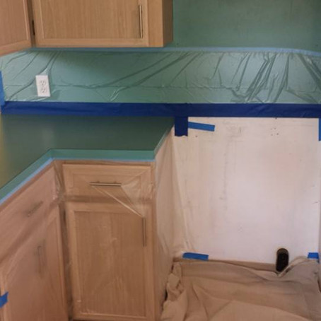 Countertop Transformations- Keep the shine, save the money
