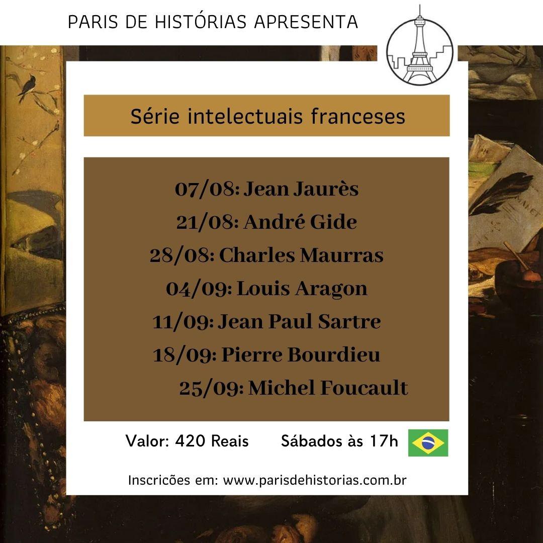 Série Intelectuais franceses