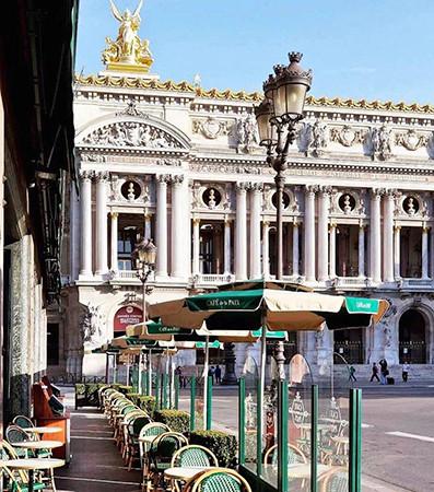 Cafe de la Paix, na Ópera