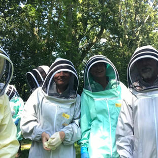 Aliens in the Surrey Hills?Nah, just aspiring beekeepers!