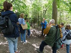 Mickleham woods tour guide talking.JPG