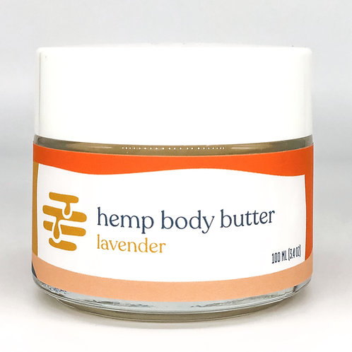 Hemp Body Butter from Apis Mercantile