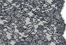 Chantilly - Bobbin lace - Crocheted lace - Chemical, lace fabric