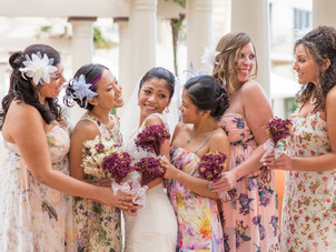 20 Bridal Parties Who Flawlessly Executed The Mismatched Dress Trend Say goodbye to the matchy-match