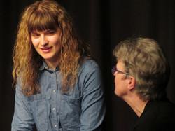 Klarissa Hogeveen speelt Becky.