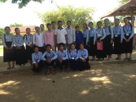 Trip to Romlech primary school