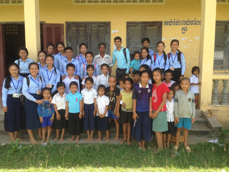 Trip to Thmey Primary school