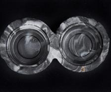 C3 Brown Dual Dish