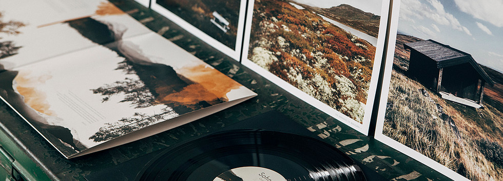 VINYL - LIMITED Edition  Deluxe heavy weight 180 gram Vinyl housed in Gatefold Sleeve with Mat Varnish Finish with Gloss Foil. Comes with 5 high quality Art Prints of 30 x 30 cm on 150 gram paper (recto verso) featuring 8 images – 1 for each song- and 1 double sided lyrics print.