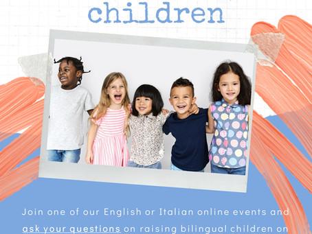 """Q&A-events """"Raising bilingual children"""""""
