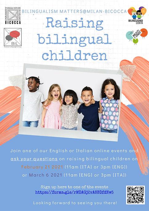 Raising bilingual children 2021 - BM@Mil