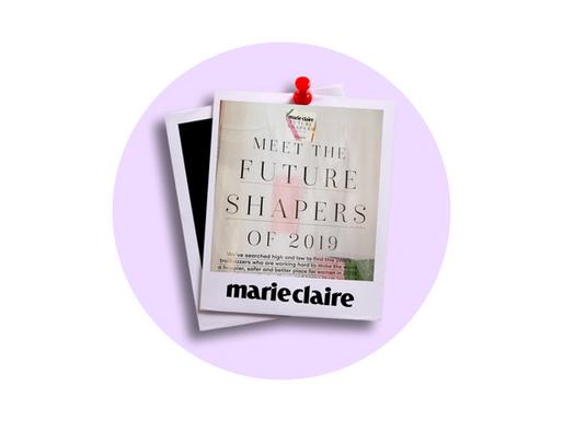 ALICE TAPPER: A MARIE CLAIRE FUTURE SHAPER 2019 🍾
