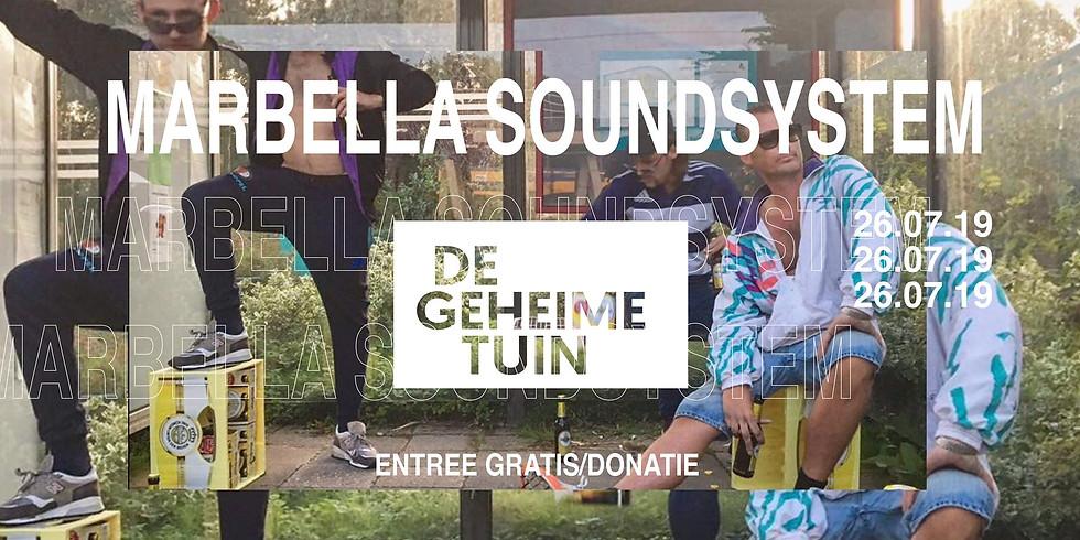 Marbella Soundsystem X De Geheime Tuin