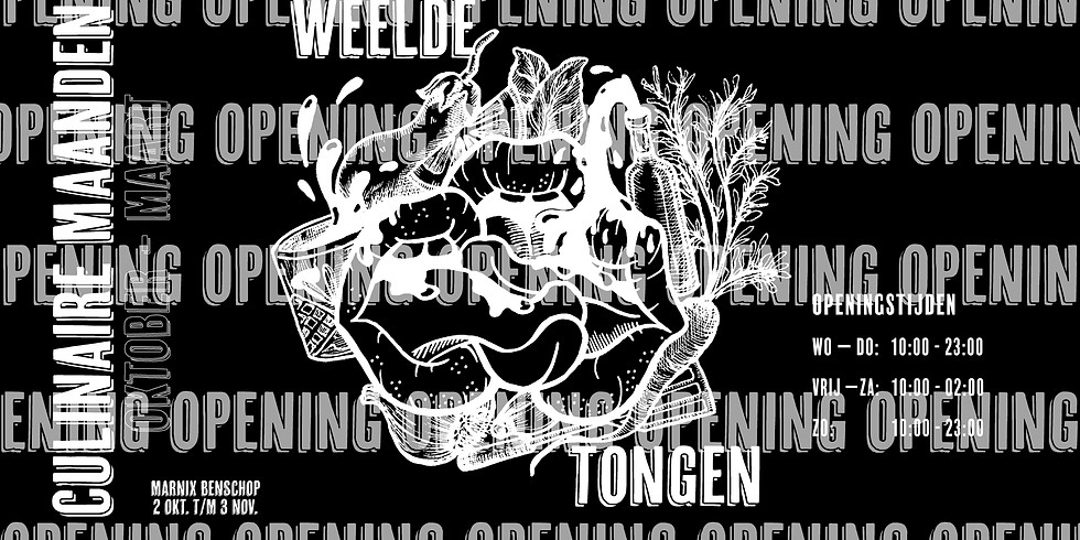 Openinsgsavond Weelde Tongen Oktober // Marnix Benschop