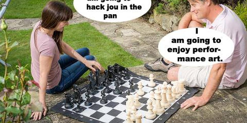 Chess in the garden 2