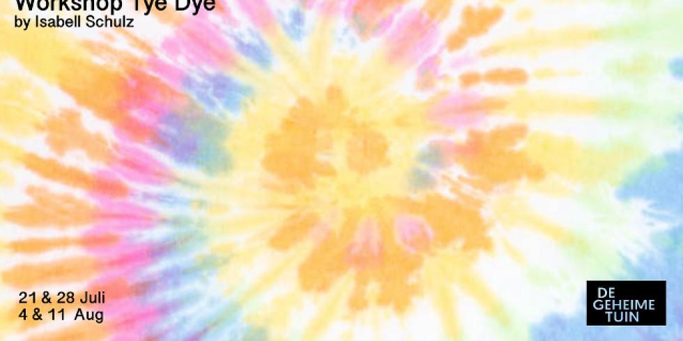 Workshop Tie Dye by Isabell Schulz