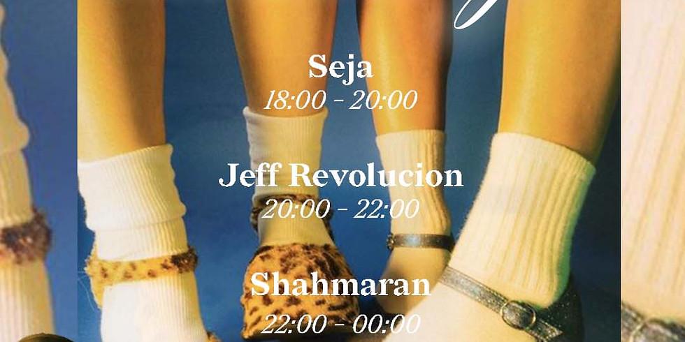 Zandbar dancing w/ Seja - Jeff Revolucion - Shahmaran