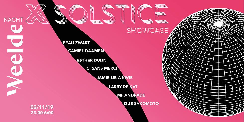 De Weelde Nacht - Solstice Showcase