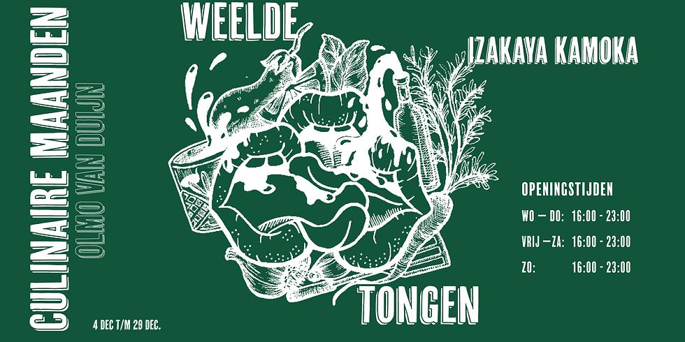Weelde Tongen // December - Izakaya Kamoka