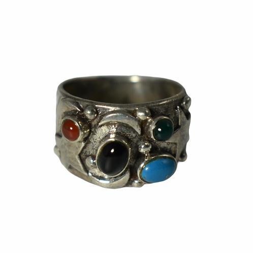 Sterling Silver vintage western ring