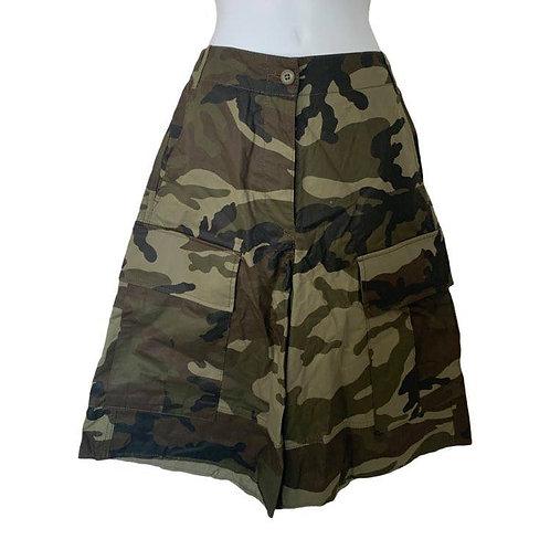 MM6 Maison Margiela women's camo high waisted shorts size 4