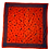 Thumbnail: Vintage Red Poly Geometric Shape Scarf