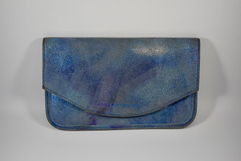 Amy Kestenberg metallic wallet