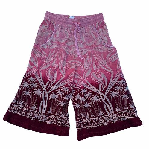 Jean Paul Gaultier Pink Ombre Mesh High Waisted Bermudas size XS