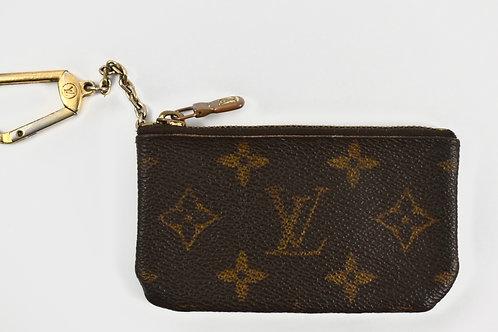 Louis Vuitton monogram print vintage key cles wallet
