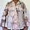 Thumbnail: Vintage custom upcycled bleach died Oscar De La Renta button down sleep shirt