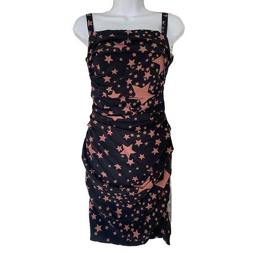 Dolce & Gabbana Star Black Dress size 2