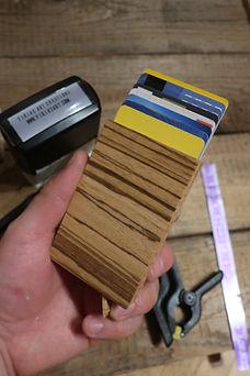 Holz Brieftasche